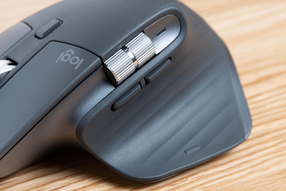 MX Master 3の側面ボタン